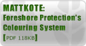 Mattkote: Foreshore Protection's Colouring System